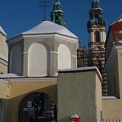 U sióstr Benedyktynek w Krzeszowie fot. Waldemar Burzych