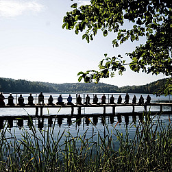 Sesje medytacyjne w Gryżynie – fot. Edyta Żukowska-Jędrzejewska