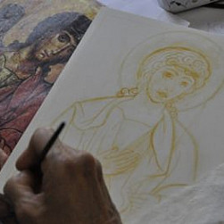 Medytacja w procesie tworzenia ikony